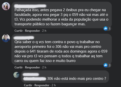 onibus reclamacoes