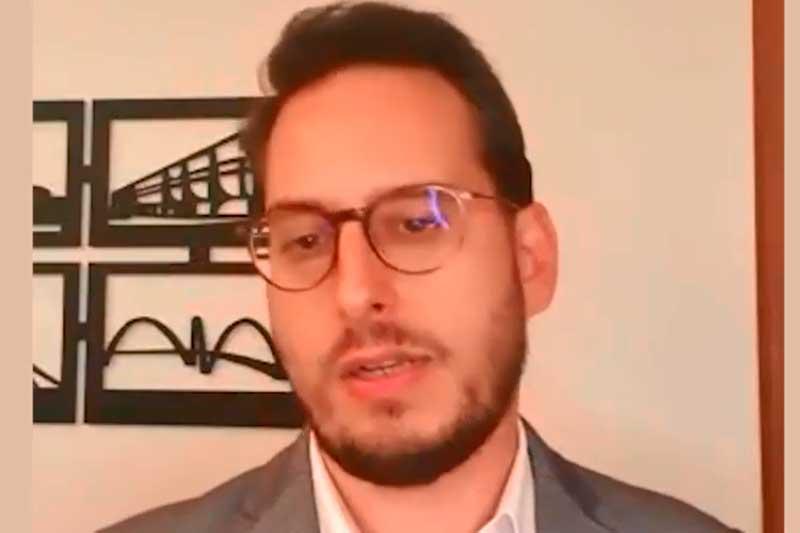 Advogado Fernando Abdala da OAB-DF (Foto: YouTube/Reprodução)