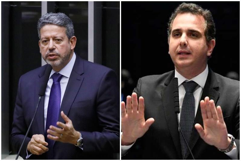 Arthur Lira e Rodrigo Pacheco são os candidatos de Bolsonaro na Câmara e Senado (Fotos: Jefferson Rudy e luís Macedo/Agencias Câmara e Senado)