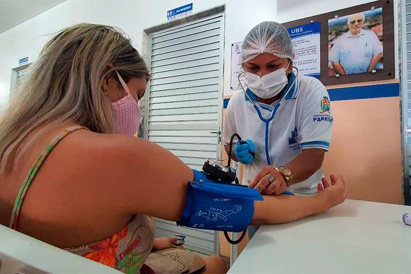 Atendimento em UBS é de pacientes com sintomas leves (Foto: Rodrigo Santos/SES-AM)