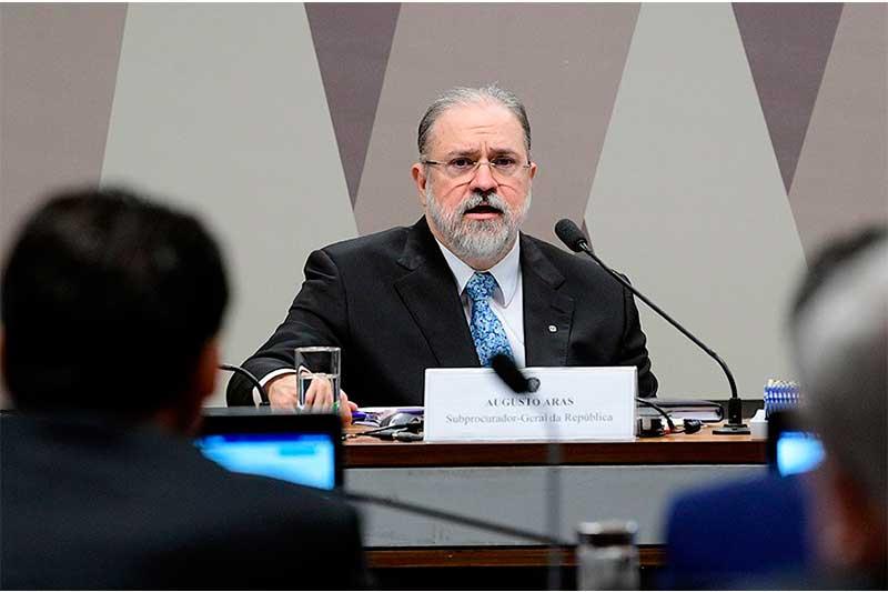 Augusto Aras é alvo de ação no Conselho do MPF (Foto: Pedro França/Agência Senado)
