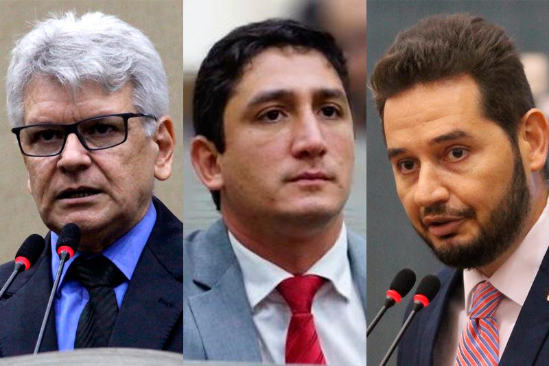 Elias Emanuel, Reizo Castelo Branco e Carlos Portta