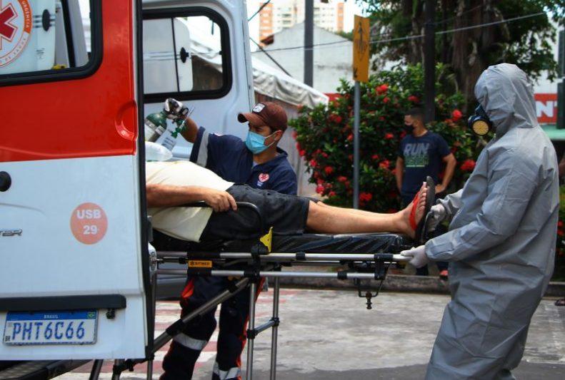 hospitalizações em Manaus