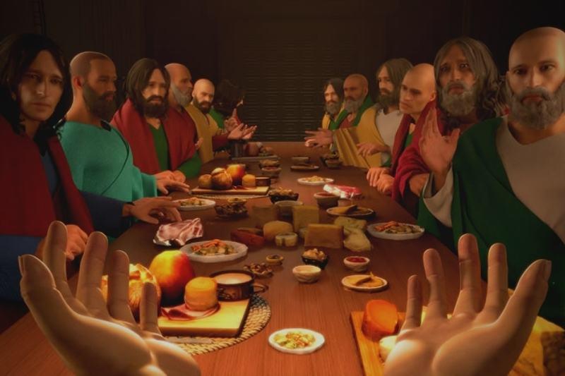 """""""I Am Jesus Christ"""" é um game em primeira pessoa em que o jogador controla Jesus Cristo (Foto: Divulgação)"""
