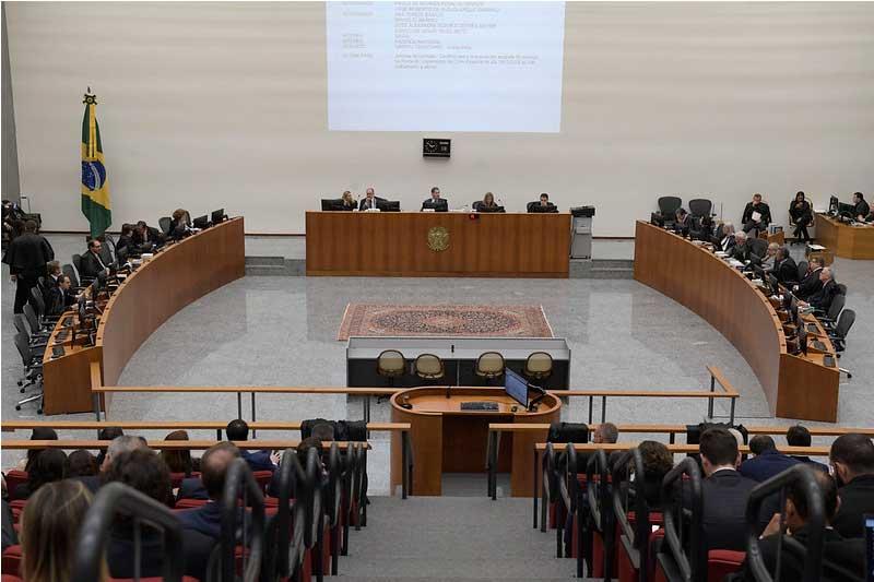 Plenário do STJ: vaga no Tribunal gera busca por aliados (Foto: STJ/Divulgação)