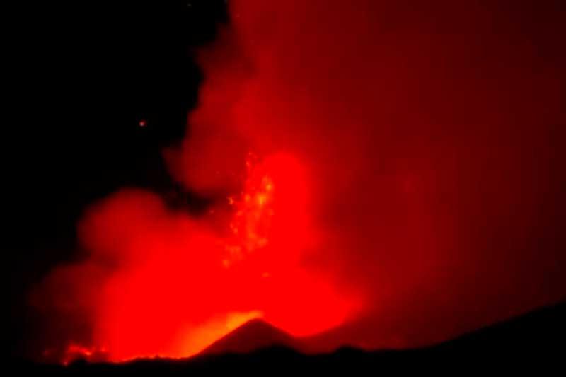 Vulcão Etna é o mais ativos da Europa (Foto: TV Brasil/Reprodução)