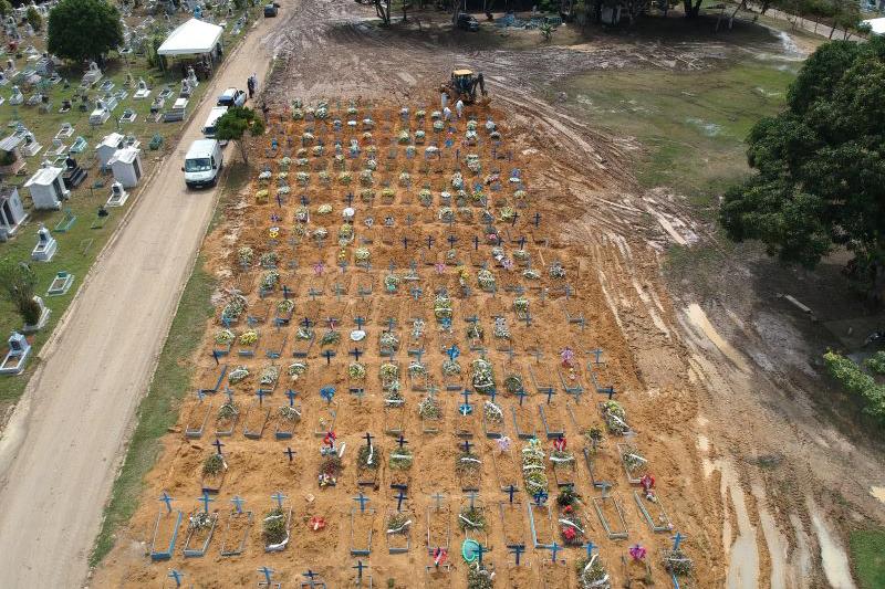 Cemitério Nossa Senhora Aparecida em Manaus
