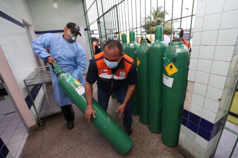 oxigênio em Manaus