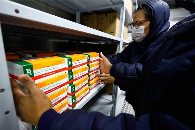 Vacinas recebidas pelo Amazonas são enviadas pelo Ministério da Saúde (Foto: SES-AM/Semcom)
