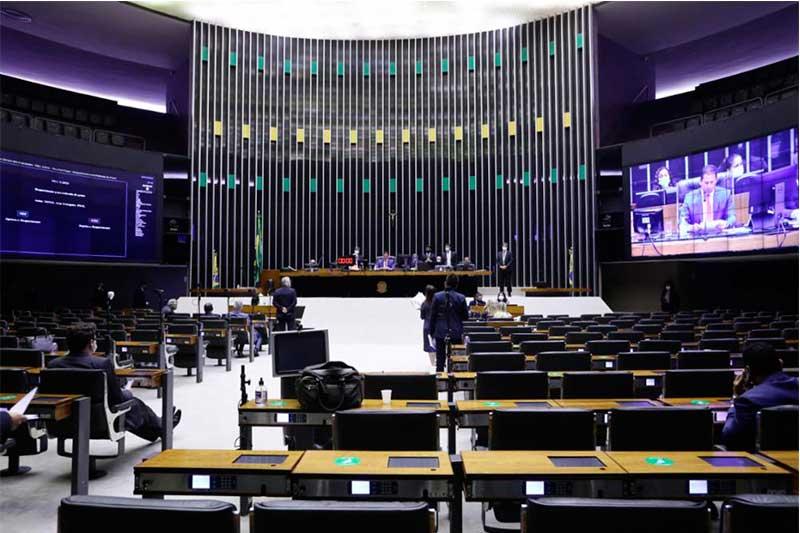 Plenário da Câmara deu parecer para admitir tramitação de PEC (Foto: Maryanna Oliveira/Agência Câmara)