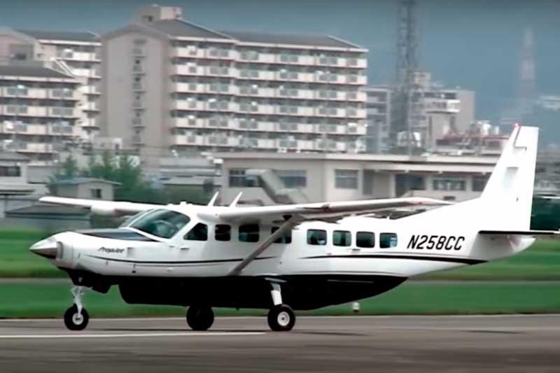 Cessna Grand Caravan é avião do tipo 2B (Foto: YouTube/Aero/Reprodução)