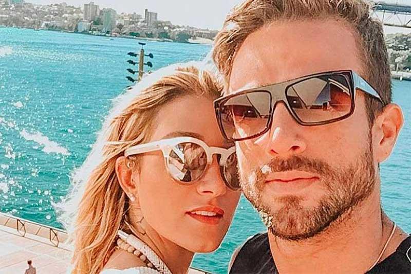 Gabriela Pugliesi e Erasmo Viana: fim da relação (Foto: Instagram/Reprodução)