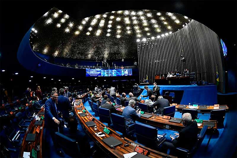 Plenário do Senado: cinco regiões representadas na Mesa (Foto: Marcos Oliveira/Agência Senado)