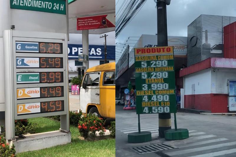 valor da gasolina em manaus