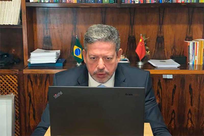Arthur Lira fez apelo ao governo chinês por vacinas ao Brasil (Foto: Agência Câmara)