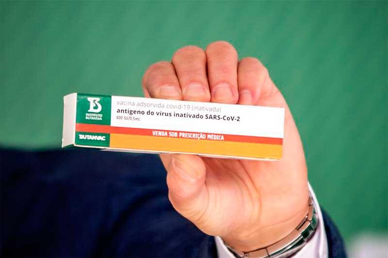 Butanvac: vacina foi apresentada nesta sexta-feira (Foto: YouTube/CNN/Reprodução)