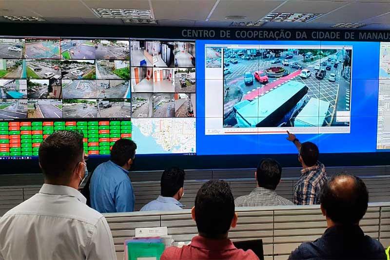 Câmeras de monitoramento serão os pontos estratégicos (Foto: Semcom/Divulgação)