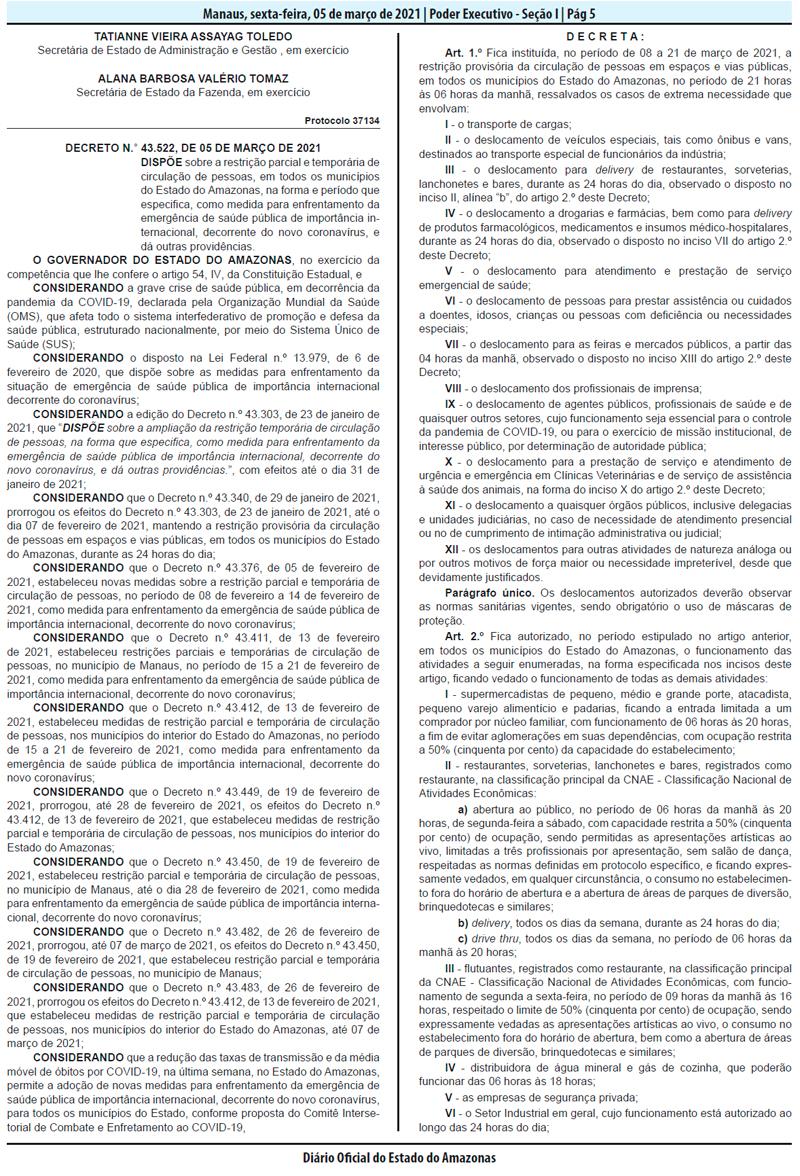 Decreto 43.522