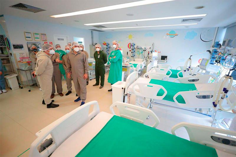 Hospital Delphina Aziz, em Manaus