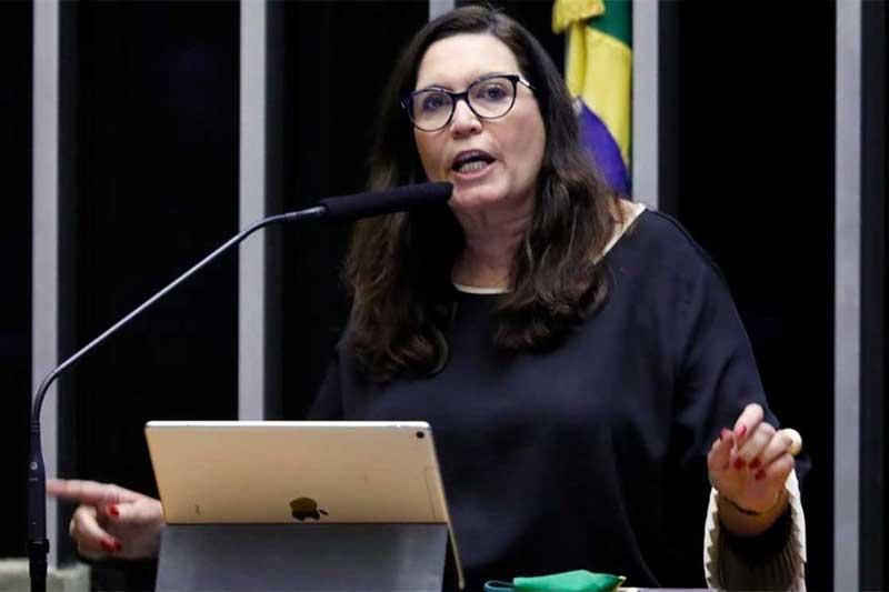 Deputada Bia Kicis era a única candidata (Foto: Luís Macedo/Agência Câmara)