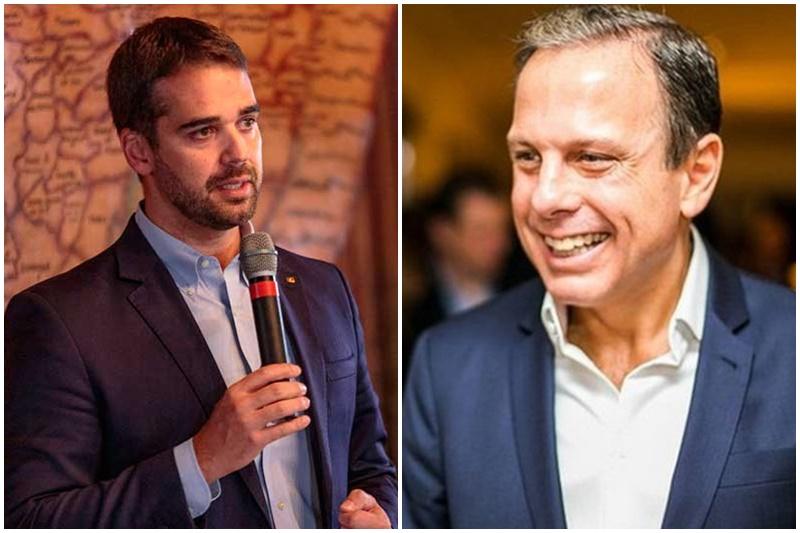Eduardo Leite e João Doria disputarão prévias no PSDB (Fotos: Gustavo Mansur/Palácio do Piratini e Facebook/Reprodução)