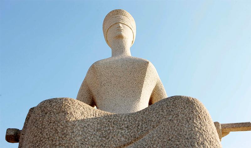 Estátua da Justiça STF