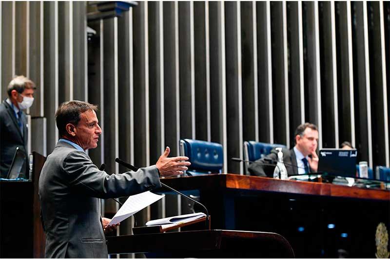 Relator Márcio Bittar mudou texto da PEC Emergencial (Foto: Leopoldo Silva/Agência Senado)