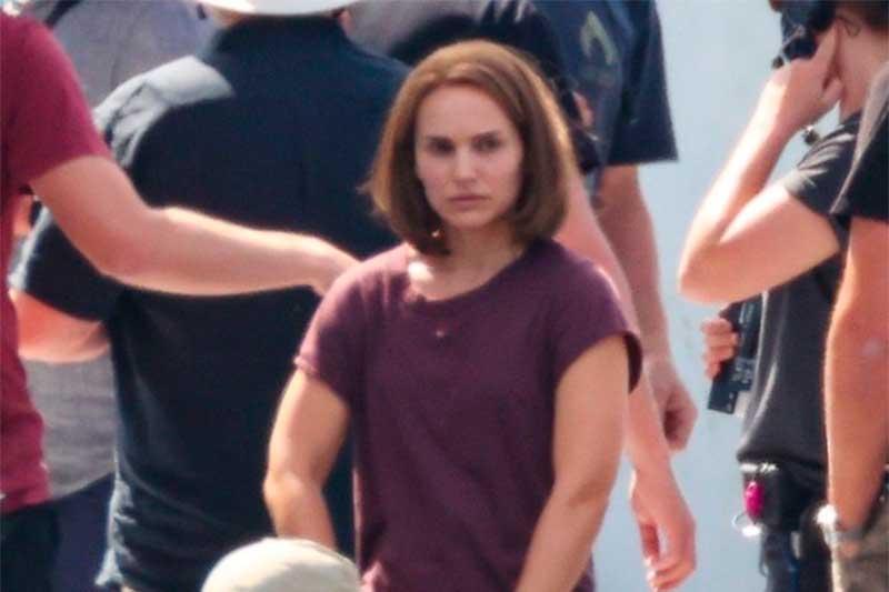 Natalie Portman está mais muscolosa em novo filme do Thor (Foto: Twitter/Reprodução)