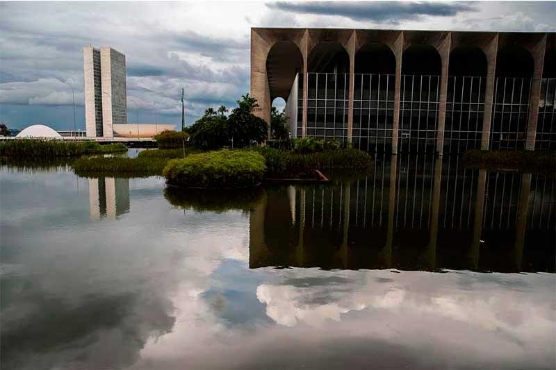 Palácio do Itamaraty: alívio com saída de ministro (Foto: Marcello Casal Jr/ABr)