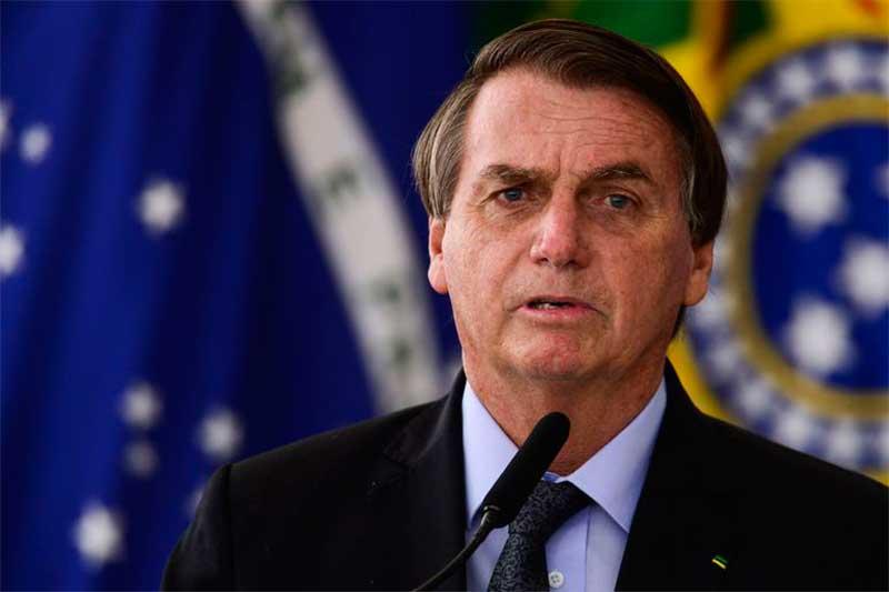 Presidente Jair Bolsonaro fez pronunciamento no rádio e TV (Foto: Marcelo Camargo/ABr)