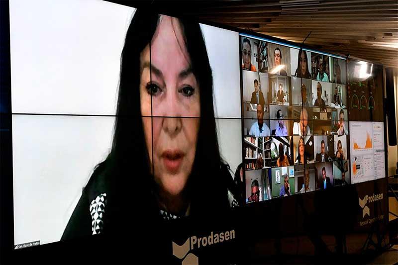 Senadora Rose de Freita quer representação de fato (Foto Leopoldo Silva/Agência Senado)