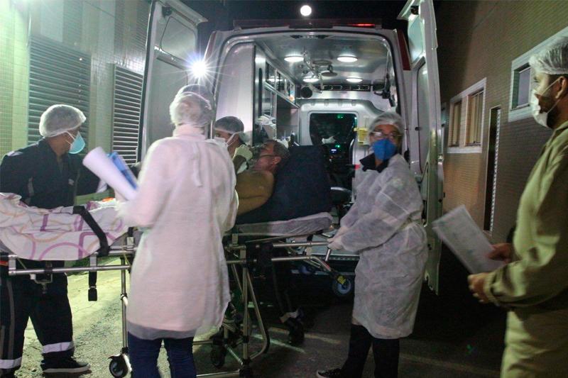 Transferência de pacientes Rondônia