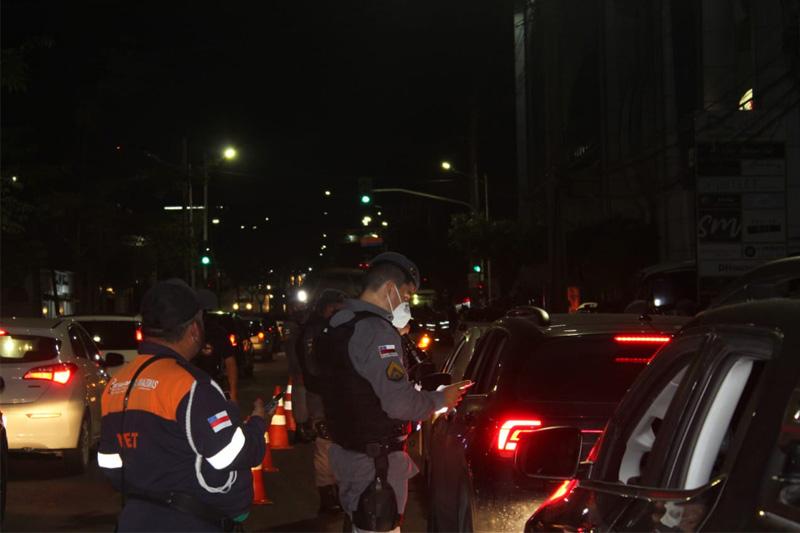barreira policial