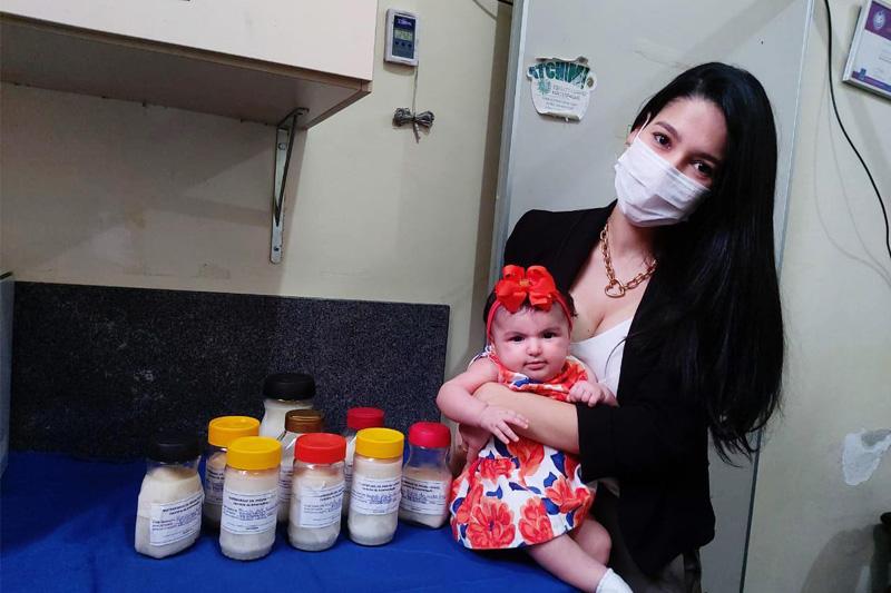 doacao de leite materno