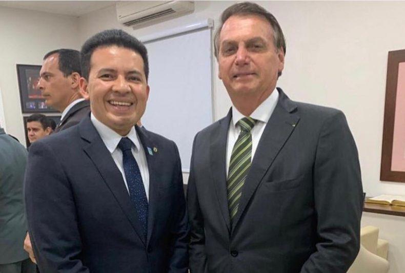 Deputado Péricles e Jair Bolsonaro