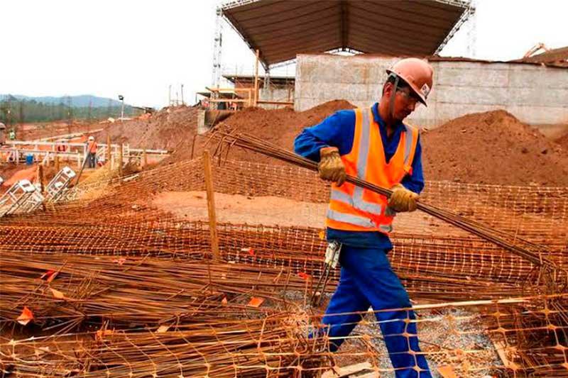 Construção civil tem oportunidades de empregos (Foto: Sinduscon-AM/Divulgação)