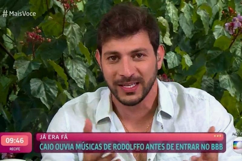 Em café com a Ana Maria Braga, Caio falou sobre amizade com Rodolffo, relação com as filhas e noivado (Foto: Divulgação/Globo)