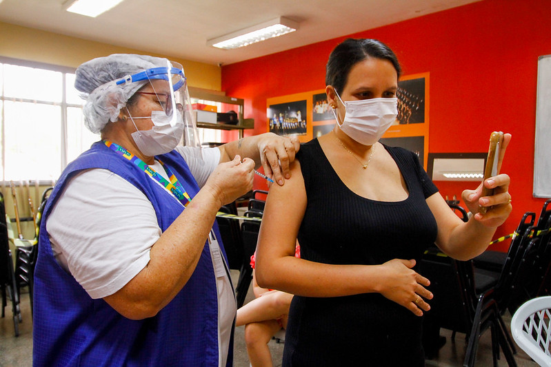 gravidas vacina