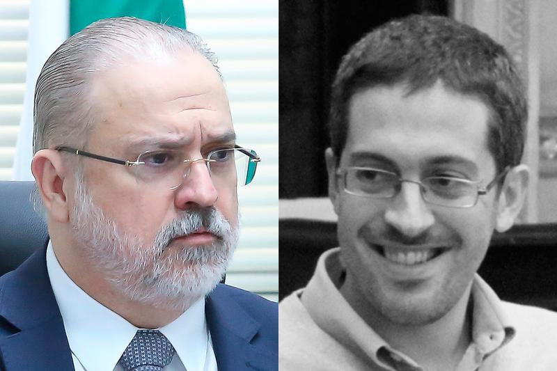 Augusto Aras e Conrado Hübner Mendes