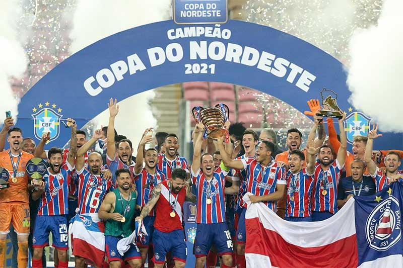 Bahia conquistou o Nordestão e vaga na Copa do Brasil (Foto: Marlon Costa/Futura Press/Folhapress)
