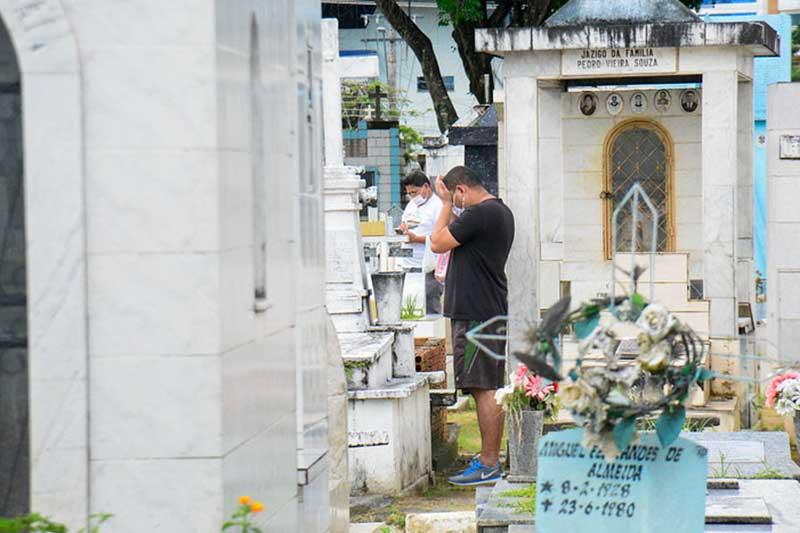 Cemitérios serão liberados para visitação (Foto: Valdo Leão/PMM Semcom)