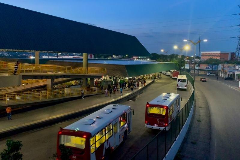 IMMU informa que fiscaliza constantemente terminais e garagens dos ônibus (Foto: Alessandra Taveira/ATUAL)