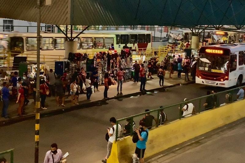 Terminal 3 na Cidade Nova, zona norte de Manaus (Foto: Alessandra Taveira/ATUAL)