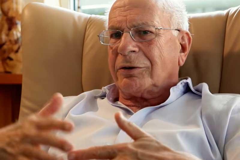 Daniel Kahneman diz que ruídos empresariais afetam a economia (Foto: YouTube/Reprodução)