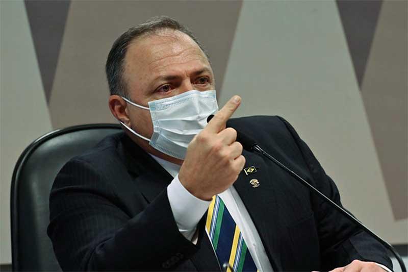 Eduardo Pazuello atribuiu falta de oxigênio à Secretaria de Saúde do Amazonas (Foto: Leonardo Silva/Agência Senado)