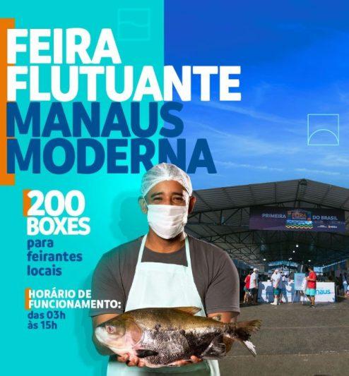 Feira Flutuante Manaus