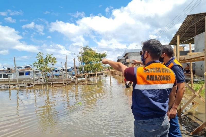Município de Manacapuru é reconhecido como em estado de emergência pelo Governo Federal (Foto: Divulgação/Defesa Civil)
