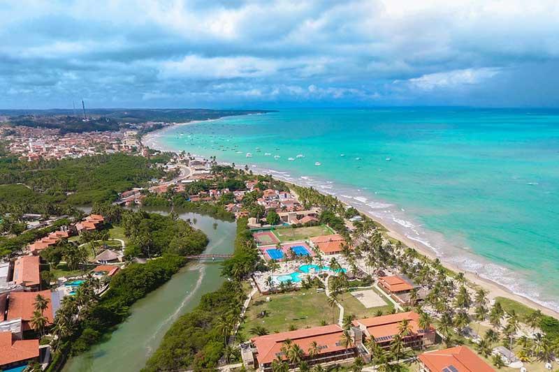 Maragogi, em Alagoas: projeto-piloto para incentivar o turismo (Foto: Prefeitura de Maragogi/Divulgação)