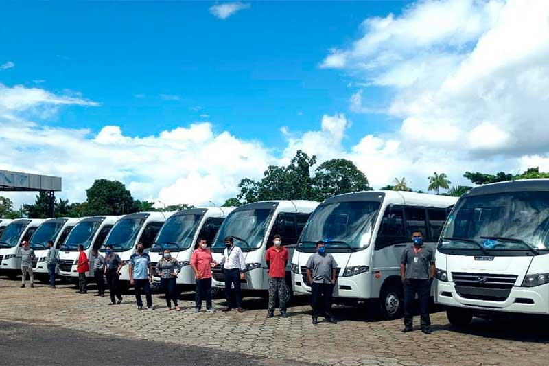 Volare expande negócios com micro-ônibus no Amazonas (Foto: Volare/Divulgação)