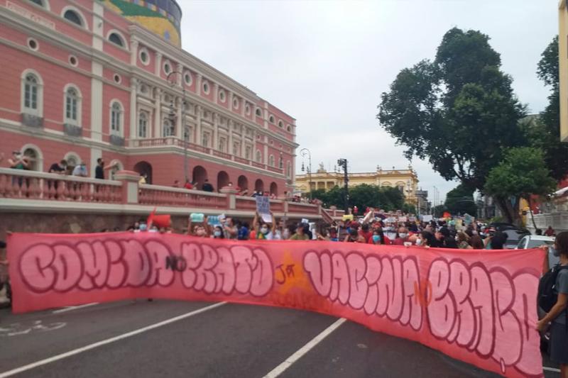Manifestação contra Bolsonaro 29 05 2021